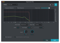 2nd Sense Engineer Filter Virtual Effect Audio Plugin