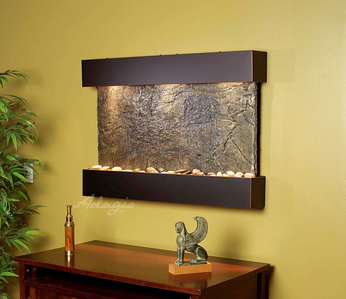 Adagio Reflection Creek Wall Fountain – Serenity Health