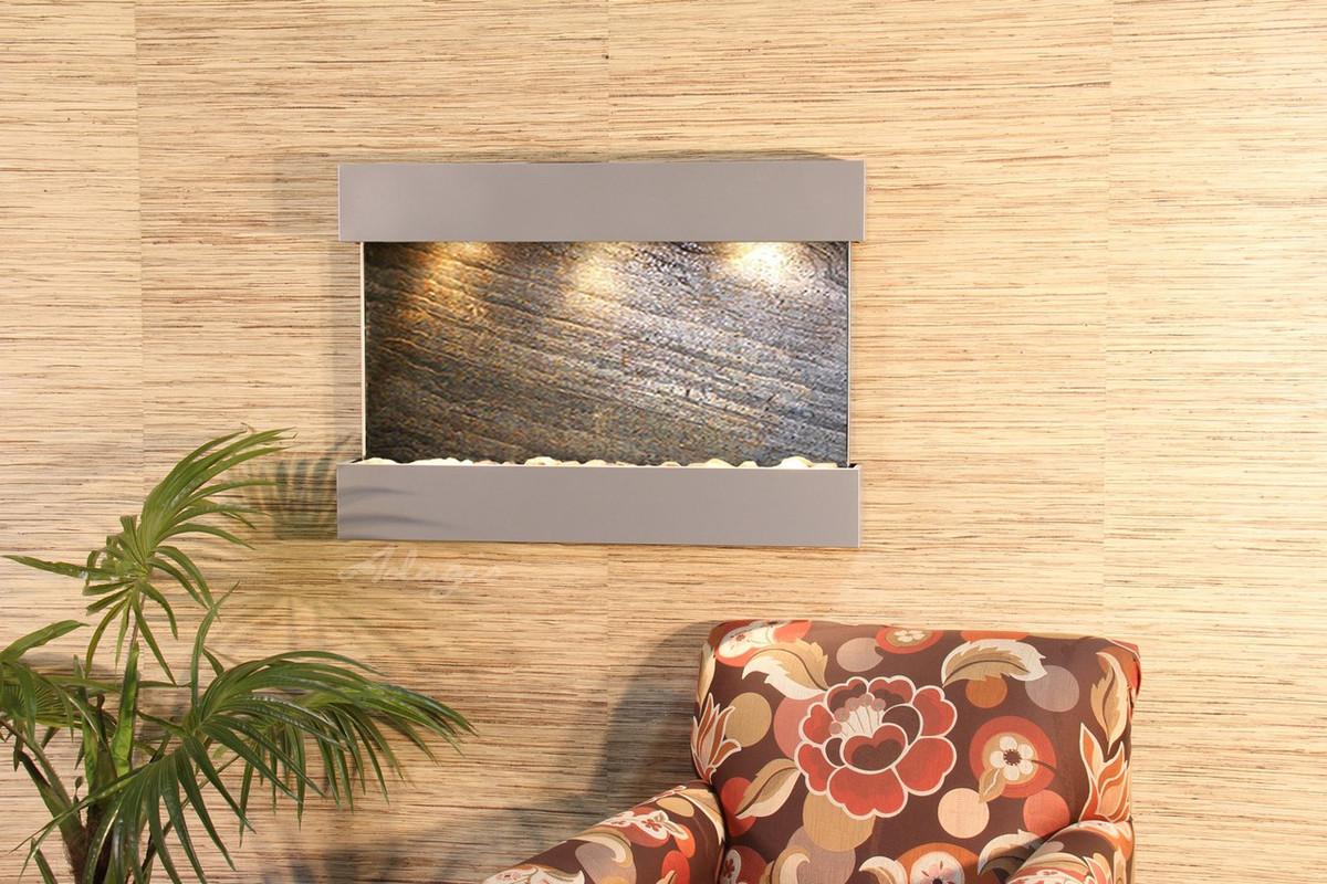 Adagio Reflection Creek Wall Fountain – Serenity Health