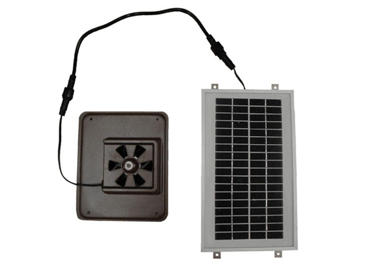 Solar Dog House Fan Serenity Health