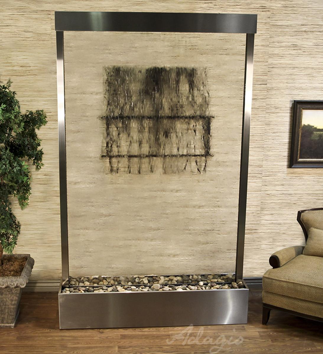 Grandeur River Floor Fountain – Indoor Floor Fountain