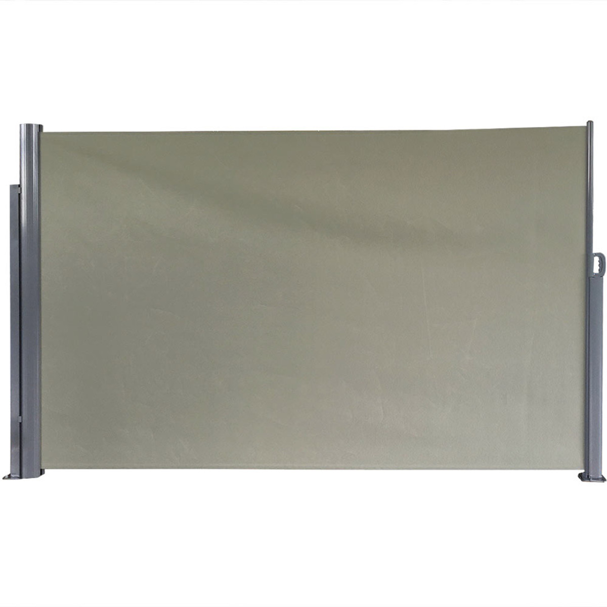 Sunnydaze IndoorOutdoor Retractable Privacy Wall Side Awning