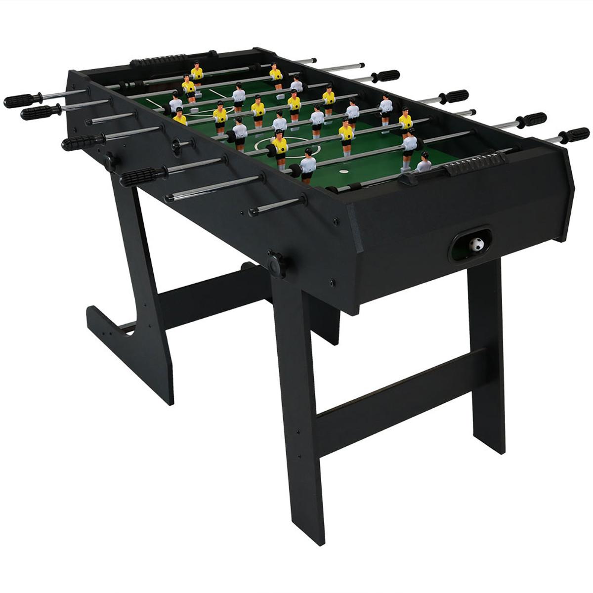 Merveilleux Sunnydaze 48 Inch Folding Foosball Game Table