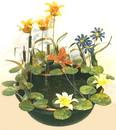 Tiger Lily Copper Fountain