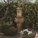 Elegant Cast Stone Chalet Fountain by Henri Studio
