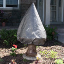 Sunnydaze Gray Tiered Fountain Covers