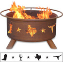 Lone Star - Texas Fire Pit