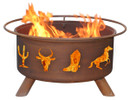 Old West Fire Pit