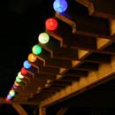 Smart Solar 20 LED Solar Chinese Lantern String Lights