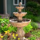 Classic Decorative 3-Tier Fountain by Sunnydaze Decor