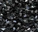 "1/4"" Onyx Black Metallic Fire Glass"