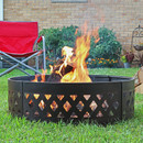 "36"" Heavy Duty Crossweave Campfire Ring"