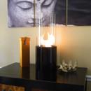 Nu-Flame Doppio Noir Tabletop Ethanol Indoor Fireplace
