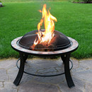 """30"""" Natural Slate Fire Pit Table"""