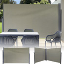Single or Double Privacy Wall Available