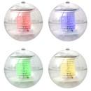 Color-Changing Solar LED Light Floating Ball - Set of 4