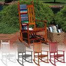 Wooden Rocking Chair, Multiple Color Options