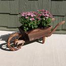 Wheelbarrow Planter with Flowers