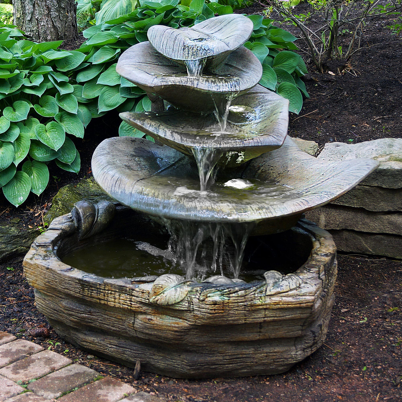 Garden Water Fountains - Large Garden Fountains