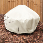 Sunnydaze Heavy Duty Beige Round Fire Pit Cover