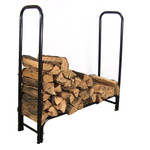 Sunnydaze 4-Foot Firewood Log Rack