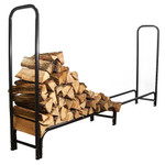 Sunnydaze 8-Foot Firewood Log Rack