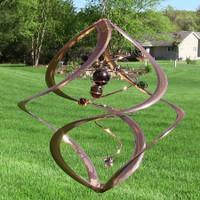 Spiral Planet Wind Spinner