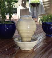 Greek Jar Outdoor Fountain