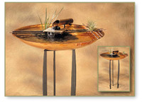 """Metal Fountain Stand - 24"""""""