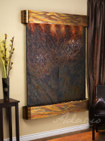 Rustic Copper with Rajah Slate