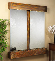with Rustic Copper Frame Square Edges