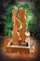 Vertical Canyon Outdoor Fountain