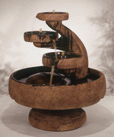 Mill Tiered Cast Stone Fountain by Henri Studio