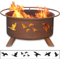 Wild Ducks Fire Pit