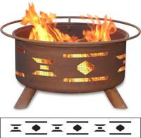 Mosaic Santa Fe Fire Pit