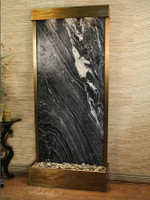 Tranquil River Floor Fountain Flush Mount Indoor