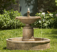 Borghese in Basin Fountain by Campania International