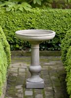Williamsburg Tea Table Birdbath by Campania International