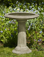 Cottage Garden Birdbath by Campania International