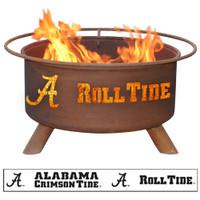 Alabama Roll Tide Fire Pit