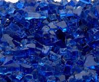"1/4"" Royal Blue Fire Glass"