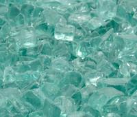 """1/2"""" Emerald Green Fire Glass"""