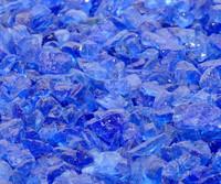 Deep Blue Sea Recycled Fire Glass