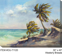 Westerly Breeze Canvas Wall Art