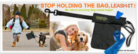 Leash-it Bag - Hands Free Carrying of Dog Waste