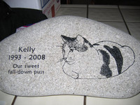 Engraved Pet Memorial - Customized to your Pet