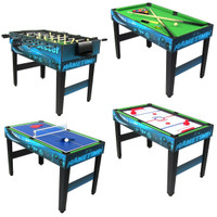Sunnydaze 40 Inch 10-in-1 Multi-Game Table