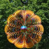 Gold Dust 3D Whirligig Wind Spinner