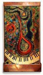 Mandolin Player Wall Fountain