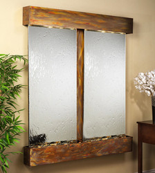 Cottonwood Falls Glass Reflections Wall Fountain by  Adagio